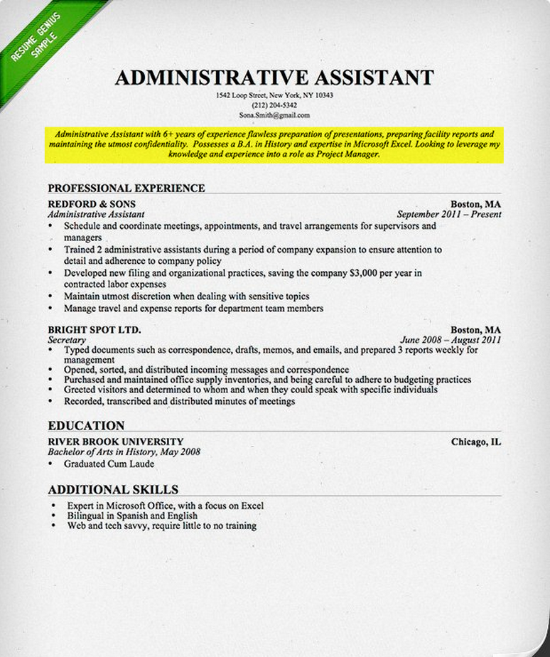 career objective for it professional resume resume exles one