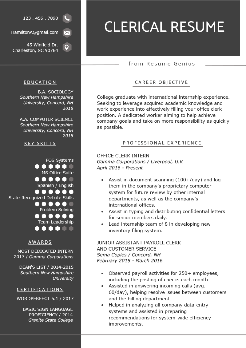 education section resume writing guide