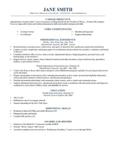 dark blue timeless - Resume With Picture Template