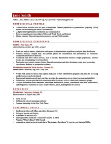 Resume Template Connery Brick Red
