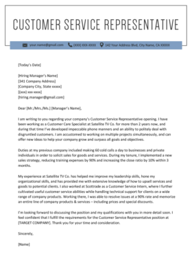 Account Manager Cover Letter Example | Resume Genius