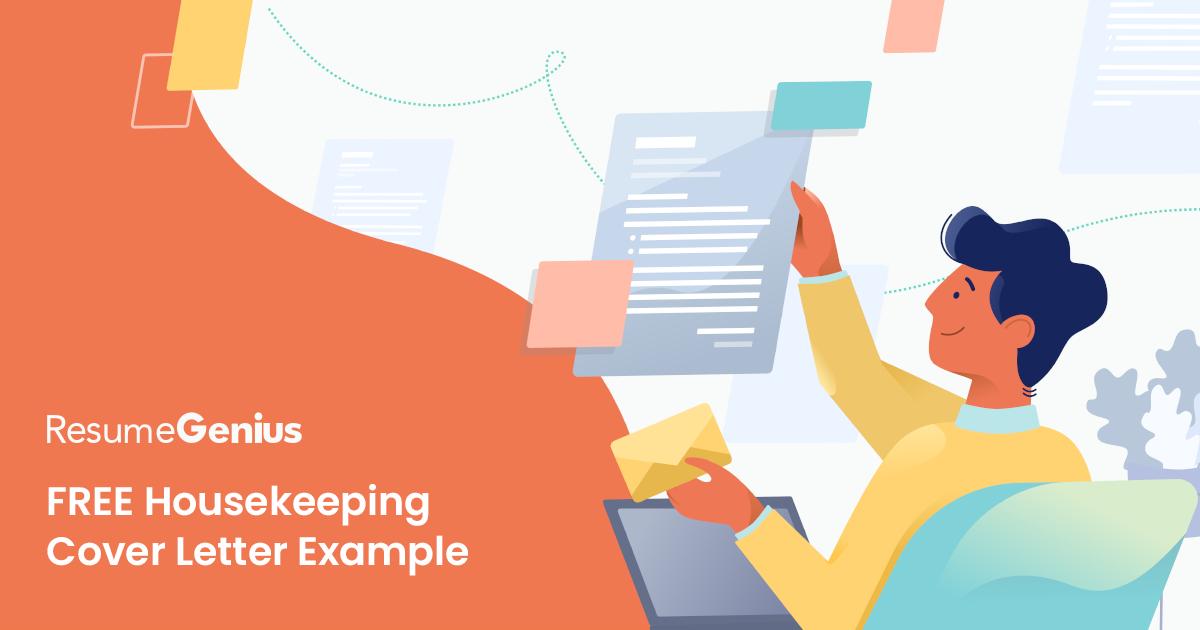 Housekeeping Cover Letter Sample | Resume Genius