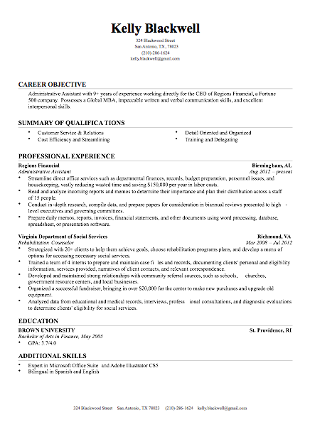 Build My Resume Now  Words To Use On A Resume
