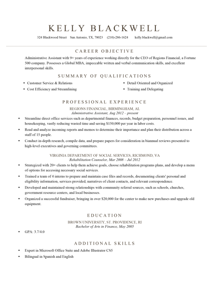 build a resume template