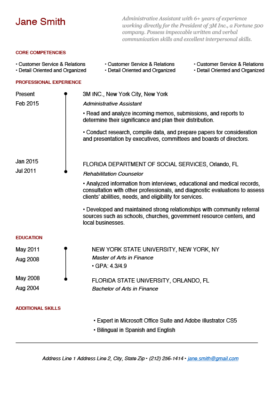 Brick Red Brooklyn Bridge Resume Template