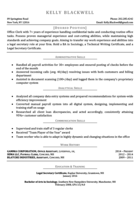 Gray Career Changer Resume Template