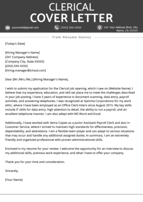 Legal Assistant Cover Letter Example
