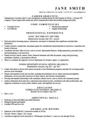 Professional Resumes Templates | Professional Resume Templates Free Download Resume Genius