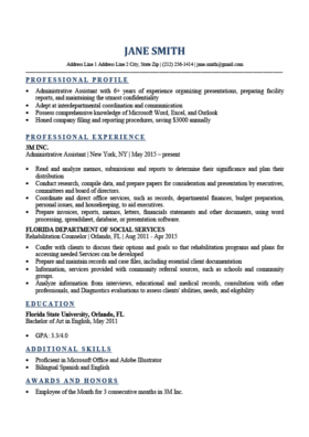 Simple Resume Template With Picture.Expert Preferred Resume Templates Basic Simple Resume