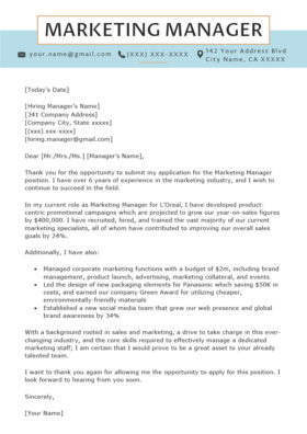 Data Analyst Cover Letter Example | Resume Genius