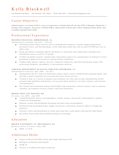 Free Resume Online from resumegenius.com
