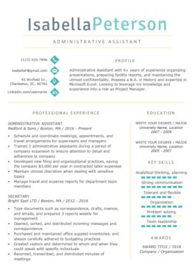 Professional Resume Templates Free Download Resume Genius