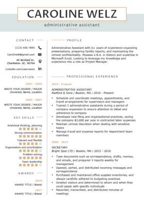Original Premium Resume Template