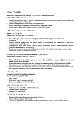 Professional Resume Templates | Free Download | Resume Genius
