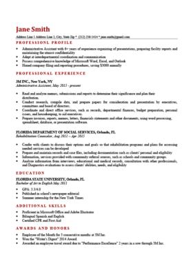 Professional Resume Templates | Free Download | Resume Genius