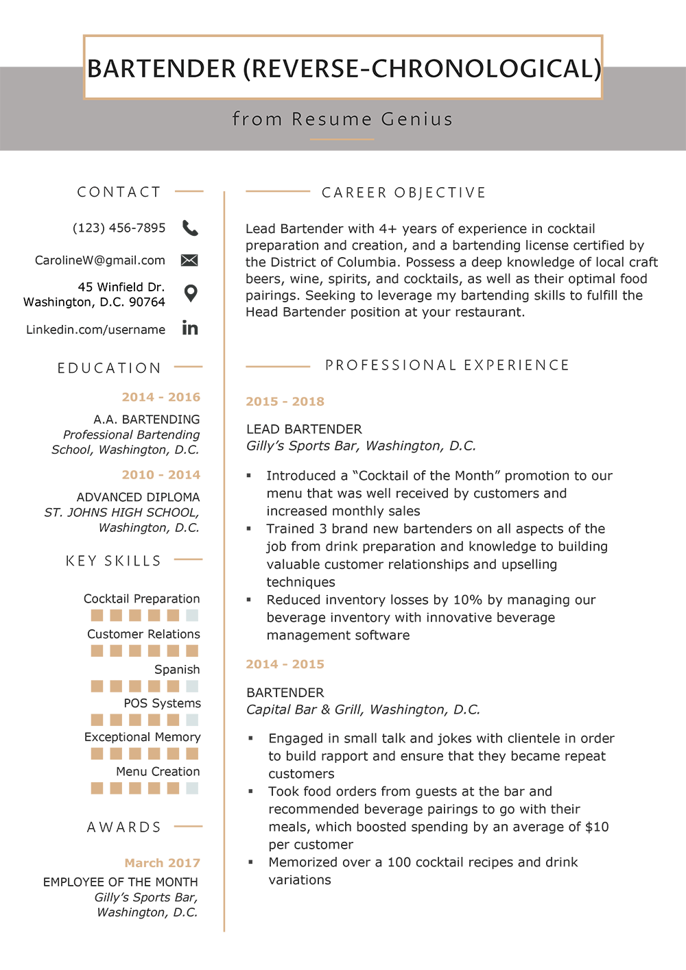 Resume Format Mega Guide How To Choose The Best Type For You Rg