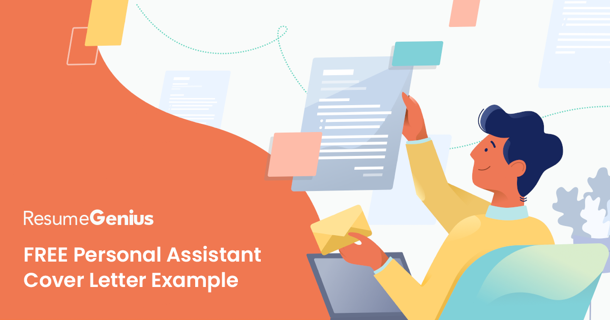 Personal Assistant Cover Letter | Free Sample | Resume Genius
