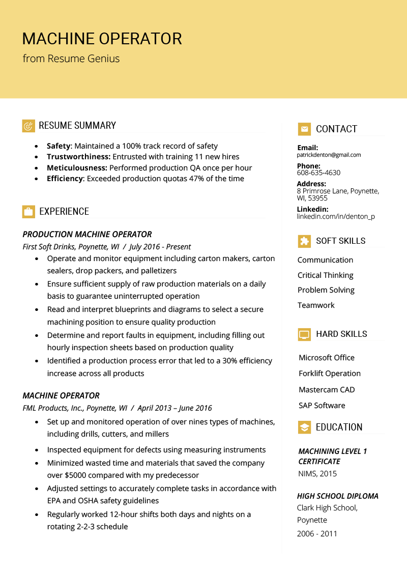 How To Write A Resume Profile Examples Amp Writing Guide Rg