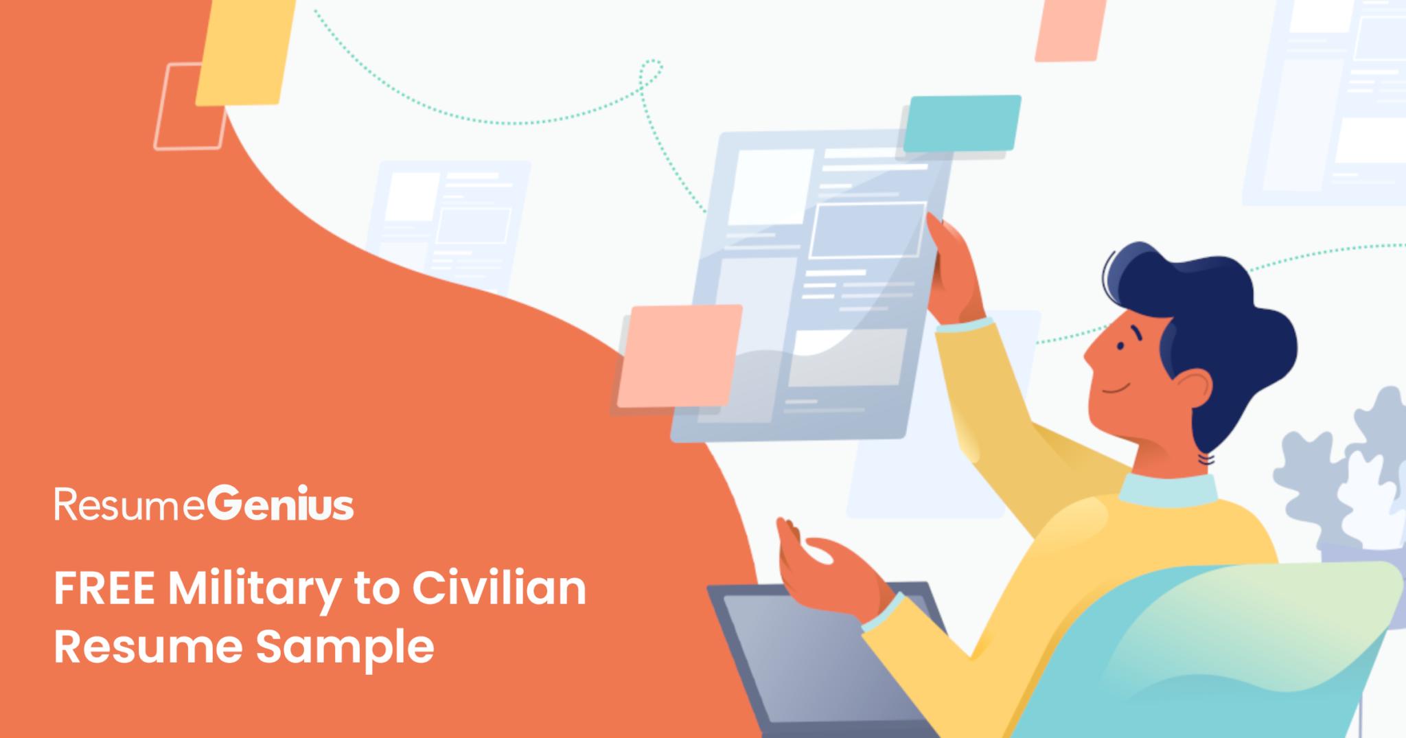 How to Write a Military to Civilian Resume | Resume Genius