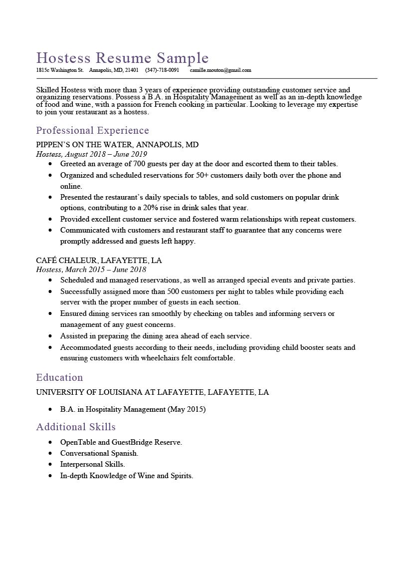 how to write a resume job description   3 examples