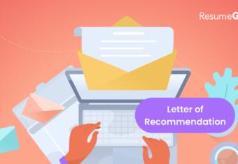 Modern Letter Writing Format from resumegenius.com