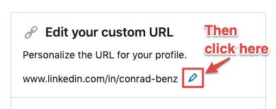 Change LinkedIn Name Step 2