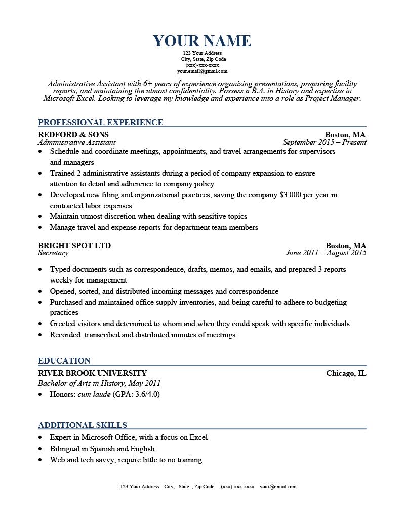 Acting Resume Template Google Docs from resumegenius.com