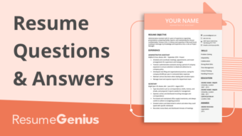 frequently asked questions and answers about resumes