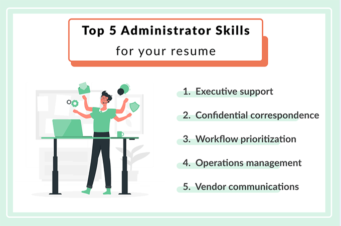 The top skills for administrative assistants