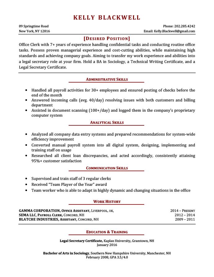 Resume changes thesis gratis