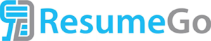 A picture of resume writing service ResumeGo's logo