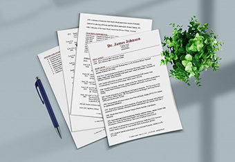CV Format Sample Featured Image