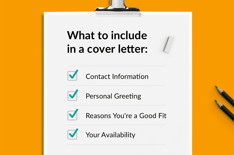 What To Include In A Cover Letter The Basics 6 Great Ideas Rg